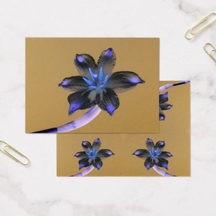 Flowers - Snowdrops - inverted colors Business Card  $119.00  by DesignedByJoannaP  - cyo customize personalize diy idea
