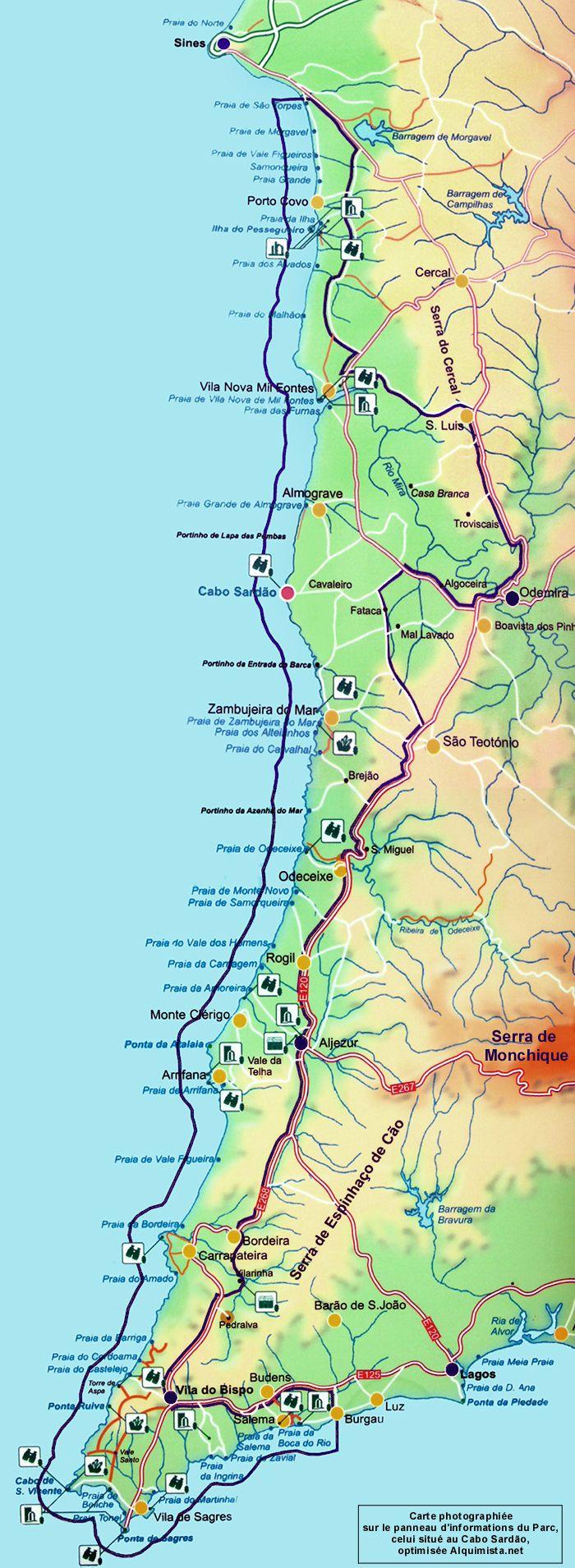 Sudoeste Alentejano e Costa Vicentina :: Arqnat