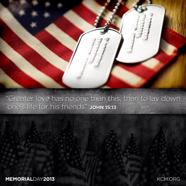 memorial day scripture images