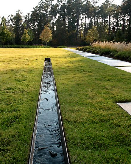 Jeffrey Carbo FASLA - Squire Creek Residence. Pinned to Garden Design - Water Features by Darin Bradbury.