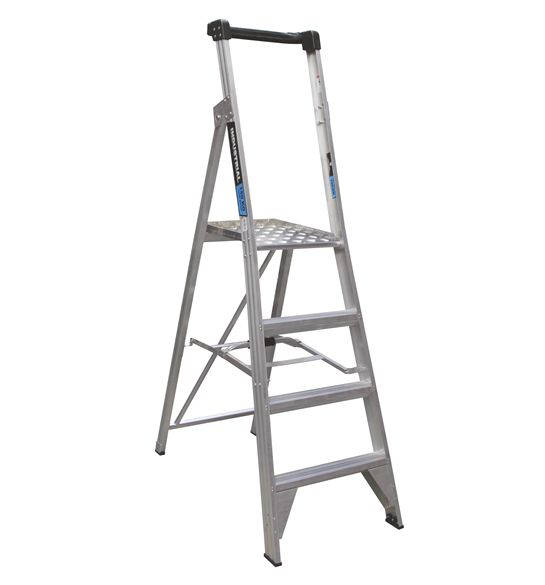 EASY ACCESS TRADE SERIES 4 STEP 1.2M PLATFORM LADDER