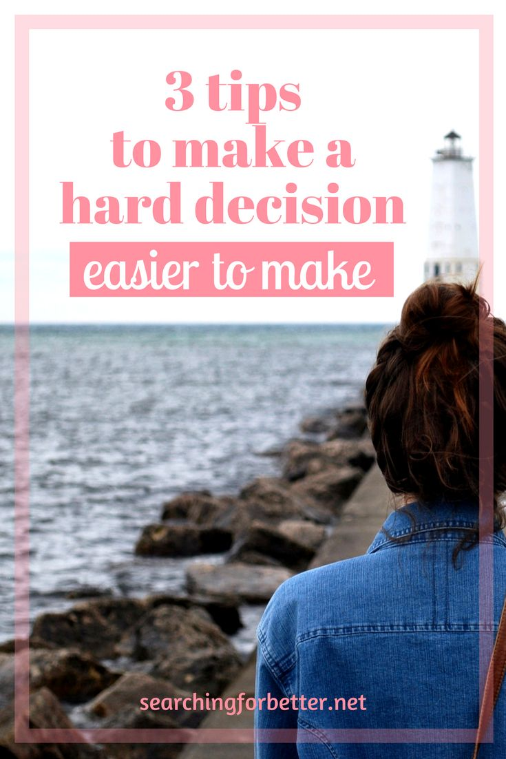 Making tough life decisions can be difficult at the best of times! These are some great tips and hacks that have helped me make better decisions in life.