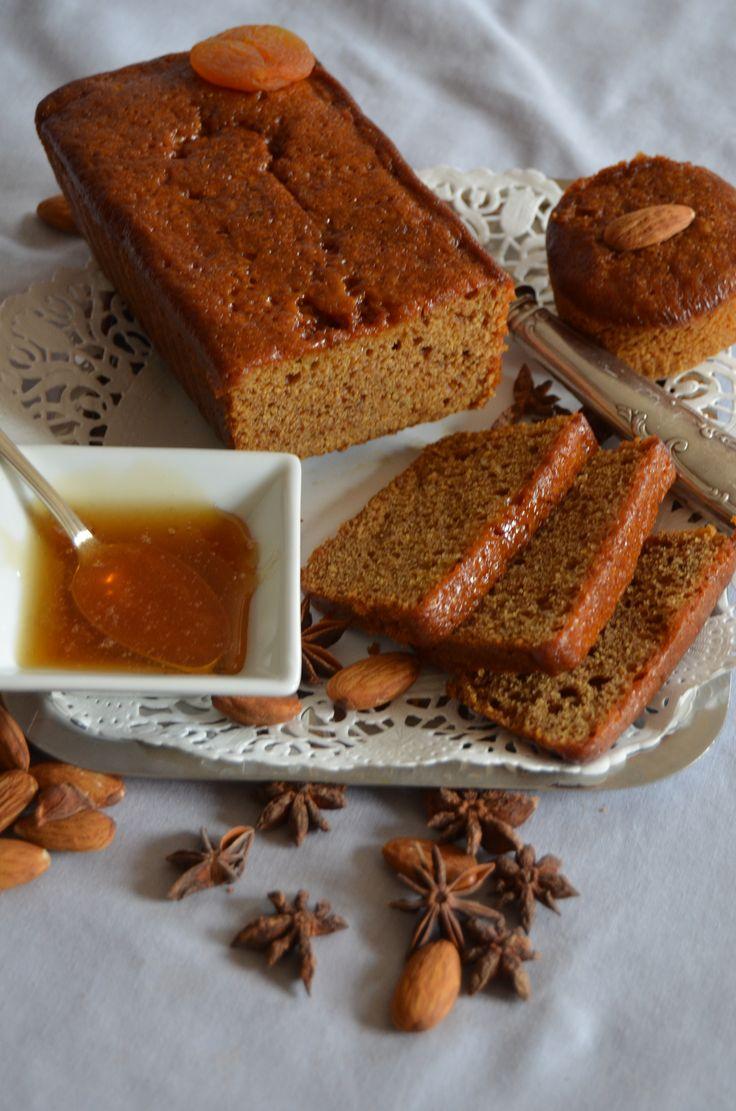 Un pain d'épices aux abricots secs!