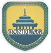 "Bandung:  ""Paris van Java. Welcome to the capital city of West Java. Show your local identity with Yotomo."""