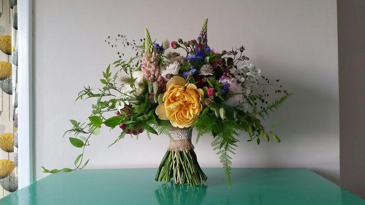 Trailing summer bouquet