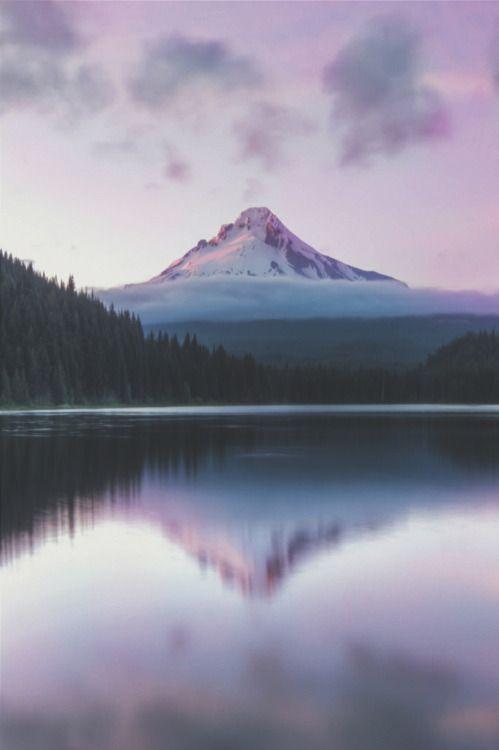 Trillium Lake by Shaun Peterson