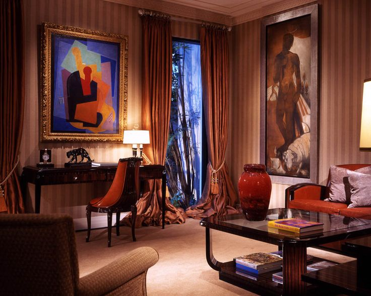 Art deco style interior design by geoffrey bradfield nyc designer geoffrey bradfield is in great demand for his elegant and luxurious inter