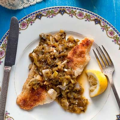I loved this image of catfish recipe