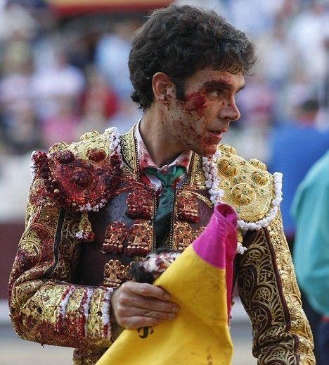 bloody bull fighter | EXPOSURE: Spanish | Pinterest