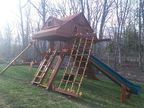 11 Best Castle Swing Set Build It For Granddaughters Images On