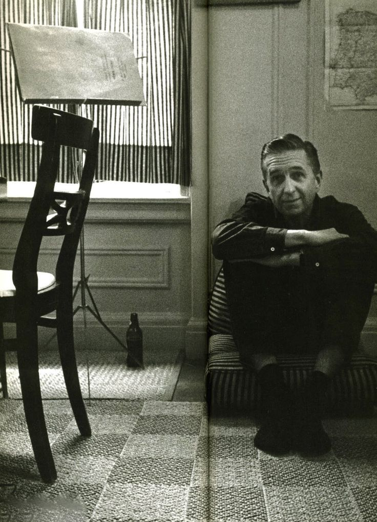 Gil Evans, stylish Canadian jazz pianist, arranger and conductor (May 13, 1912 - 1988) -  instrumental in the development of the 'cool jazz' style…    Photo: William Claxton