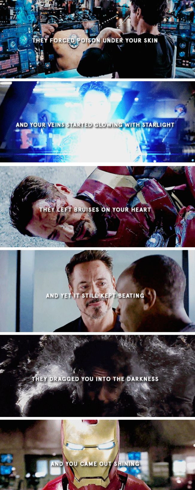 So true.. everyone should give Tony credit for doing the impossible.