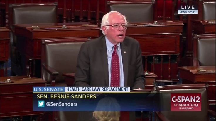 Bernie Sanders DESTROYS Trumpcare in a Fiery Senate Speech