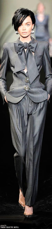 Armani Privé Fall 2009 Couture by Eva