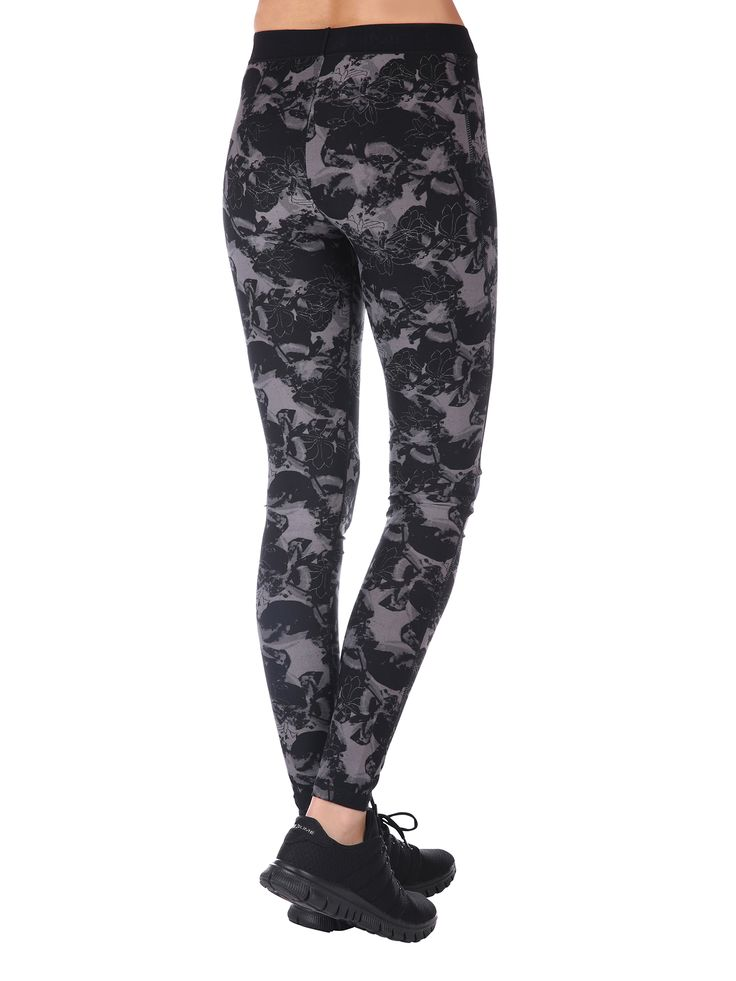 Fitness Leggings gray and black Purelime SS16