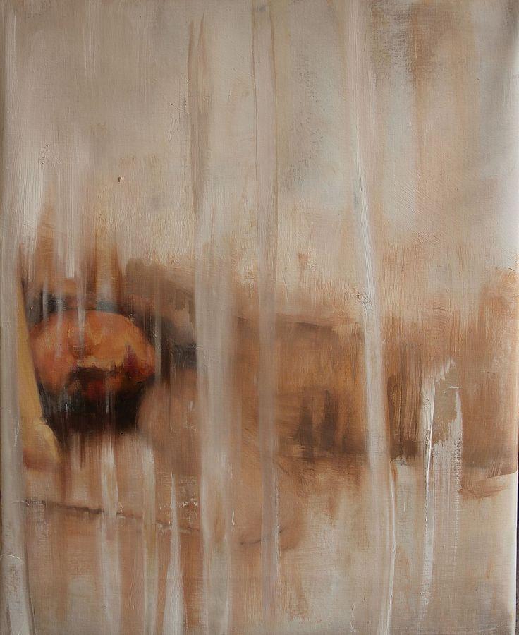 "Saatchi Art Artist: Fanny Nushka Moreaux; Oil 2014 Painting ""White Haven (SOLD)"""
