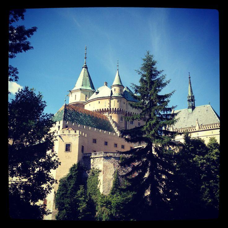 Castle of Bojnice , Slovakia