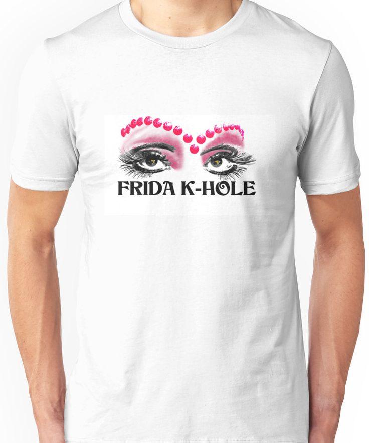 Frida K-Hole Eyes Unisex T-Shirt
