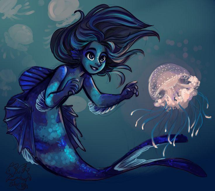 skipperjovi: sharpie91: Mermaids by... - Life is Like a Bad RPG