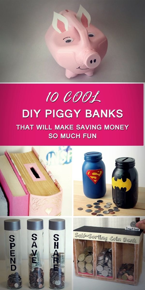 Piggy Banks That Will Make Saving Money