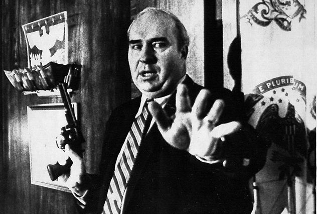 On Jan. 22, 1987, Pennsylvania's Treasurer, Budd Dwyer, called a news conference and shot himself in the head on television!