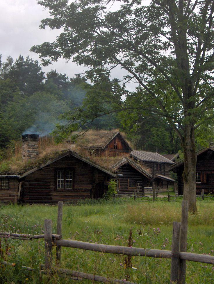 Old Norwegian Houses