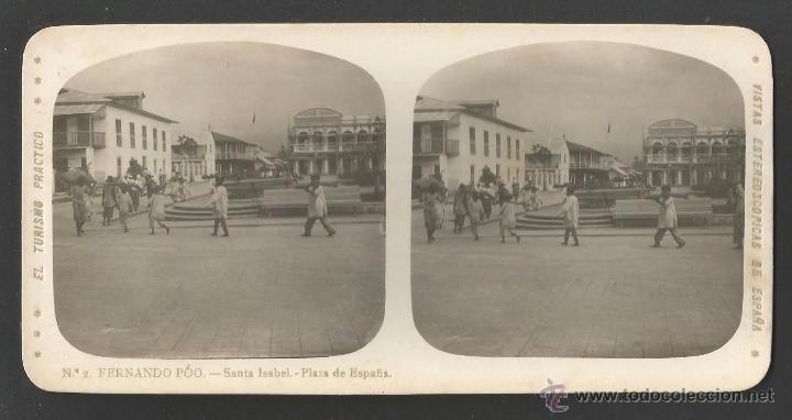 Fotografía antigua: FERNANDO PÓO - GUINEA ESPAÑOLA - AFRICA - 10 VISTAS - SERIE EL TURISMO PRÁCTICO - 17 X 8 CM - Foto 1 - 54695042