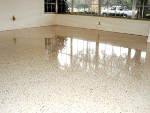 Terrazzo flooring, which can be considered a masterpiece is durable and can withstand almost every type of weather.