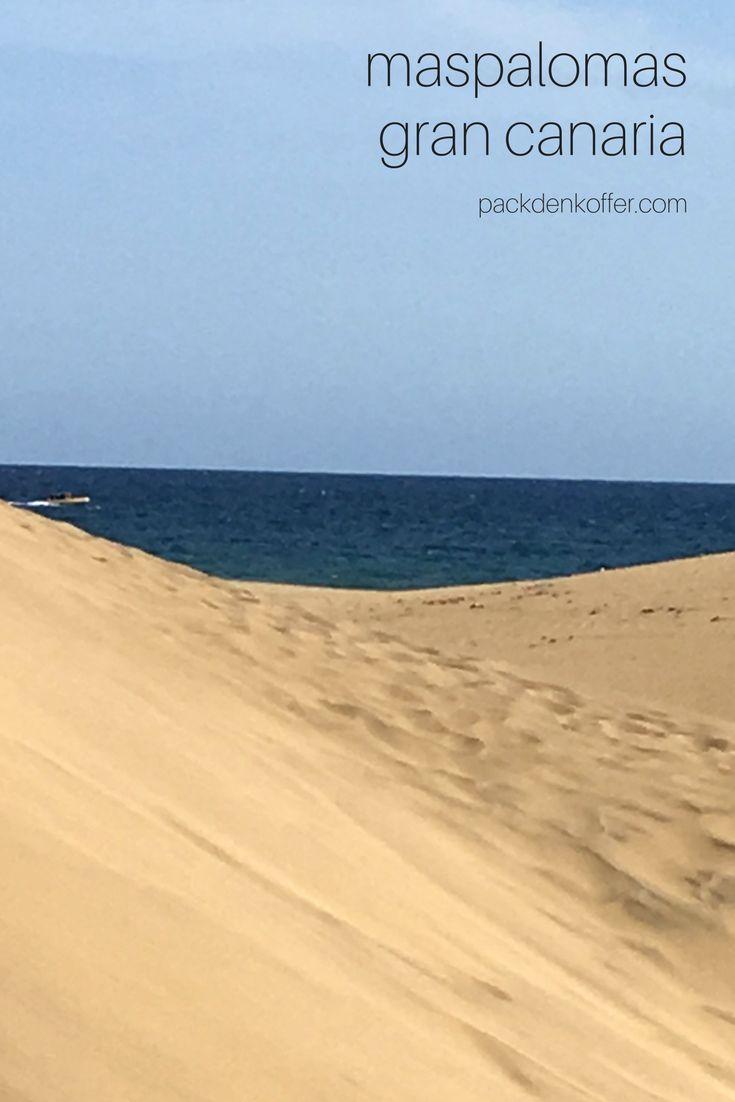 The Dunes of Maspalomas, Gran Canaria