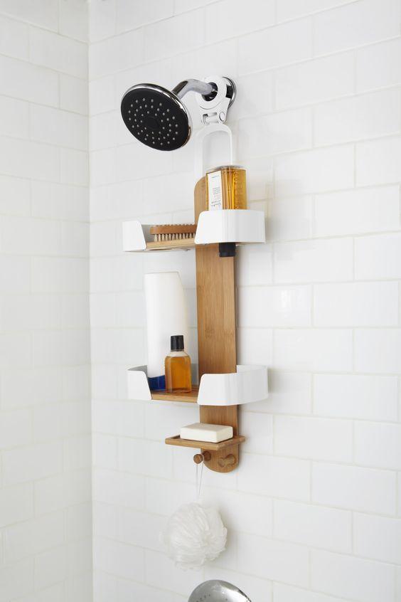 Charming Decker Shower Caddy Idea