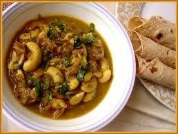 Olya Kajuchi Usal ~ cashew nut curry