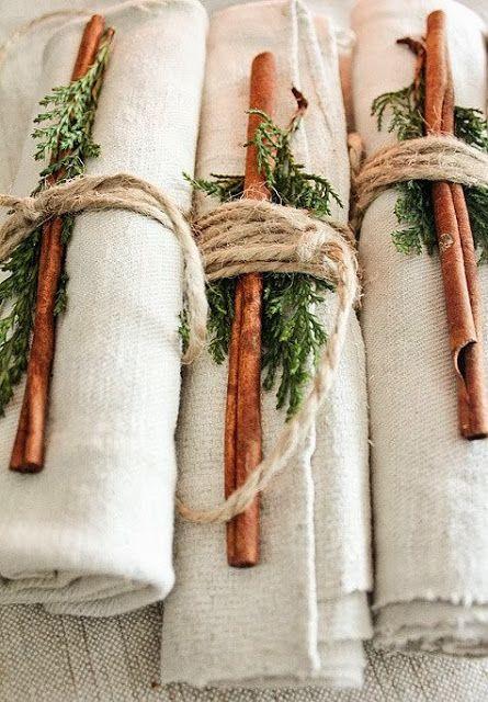 Cinnamon + pine