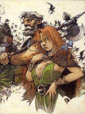 Les Héroïnes de BD: Pélisse, la Quête... ( Loisel )