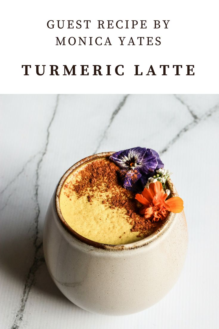 Live on www.renaesmith.com.au right now - Turmeric Latte Guest Recipe by Monica Yates