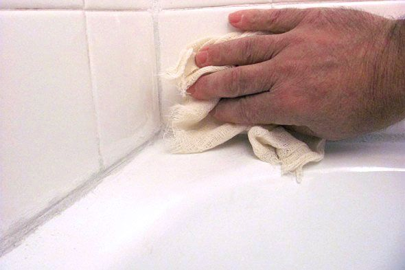 No More Caulking: Use Grout Around Your Bathtub - DIY Life