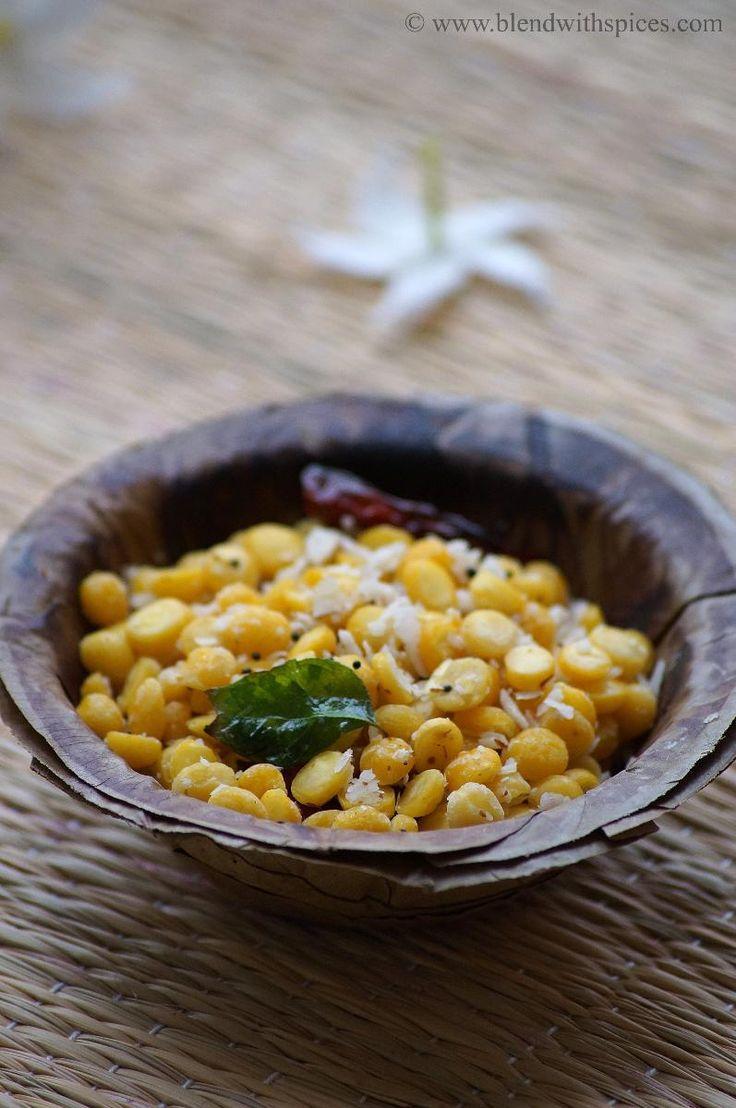 Chana Dal Sundal Recipe