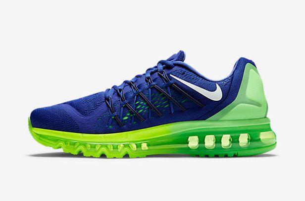 quality design d850c b6e5b 2018 Where To Buy Nike Air Max 2015 Running Game Royal Lime Green Poison  Green