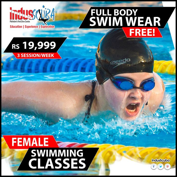 FEMALE SWIMMING CLASSES!! Ladies, Put your fear apart. Female swimming lessons specially designed for you, taught by our highly trained female instructor who will smoothly ease you in and around the pool in a friendly relaxed environment. Swimming is one of the most vigorous activities as it involves multiple muscles to work efficiently in water. Whether it is for fitness or leisure we ensure that our pools have crystal clear water. Strengthen major muscle groups in your body while keeping…