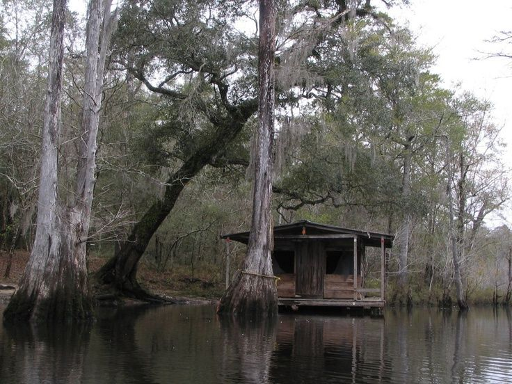 Atchafalaya Swamp Cabins  Yeah a swamp shack like this