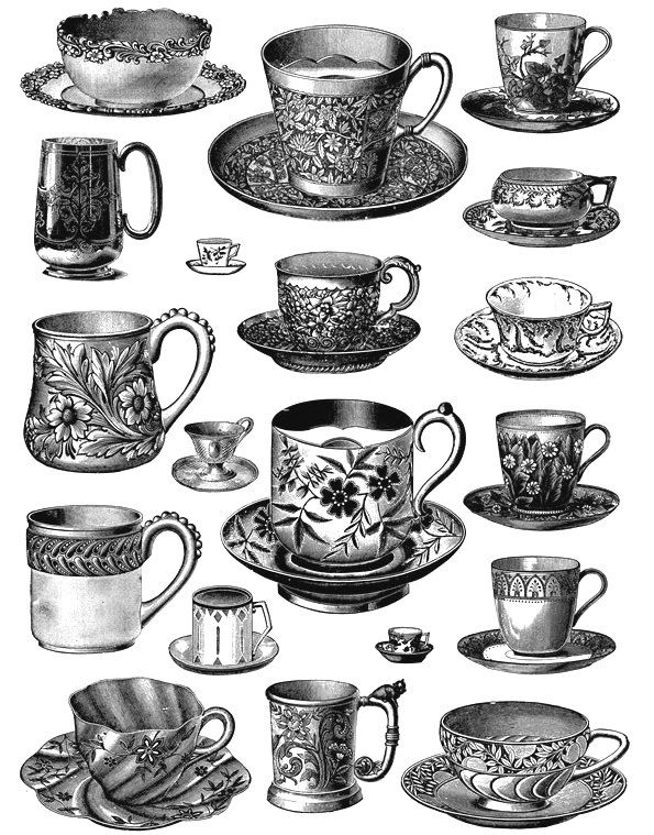 Tea Cup Free Graphics
