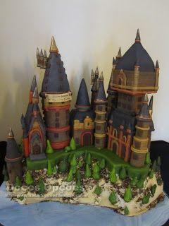 Doces Opções: Welcome Catarina to Hogwarts Castle