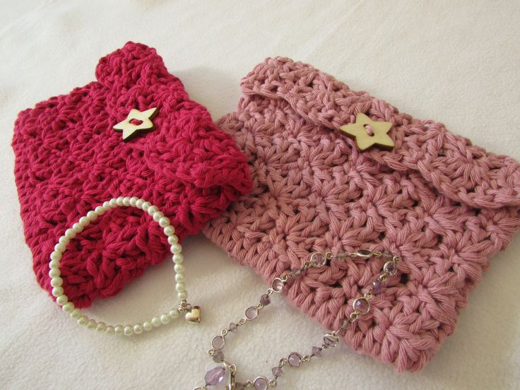 VERY EASY crochet mini shell stitch purse tutorial ༺✿Teresa Restegui http://www.pinterest.com/teretegui/✿༻