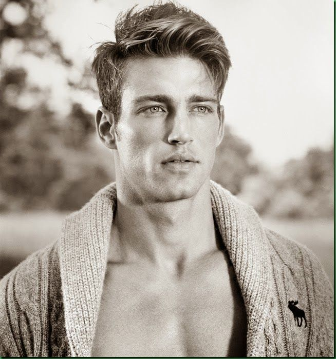 Heath Hutchins for Abercrombie & Fitch.