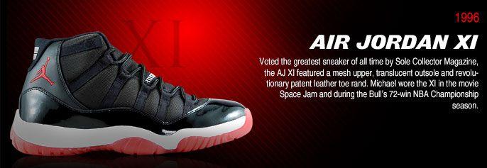 History of Air Jordan 11