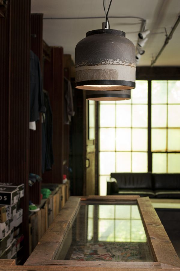 Fugitive Glue - Bomba Pendant Lamp made from de-commissioned propane tanks  #toronto