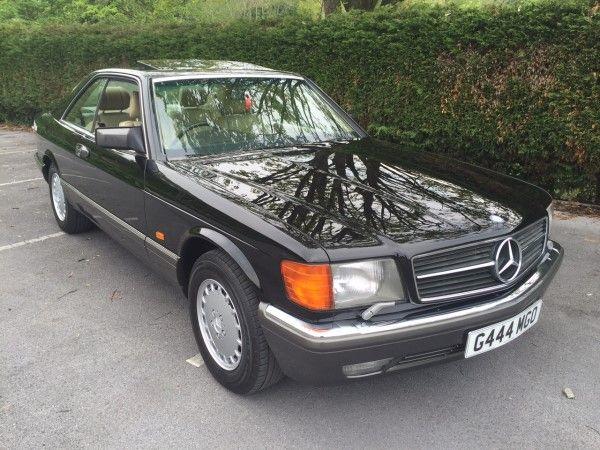 1989 Mercedes 560 SEC