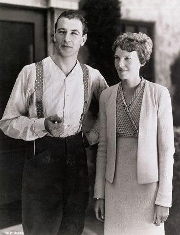 Gary Cooper and Amelia Earhart