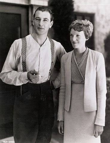 One of my absolutely favorite females of all time. | Gary Cooper and Amelia Earhart