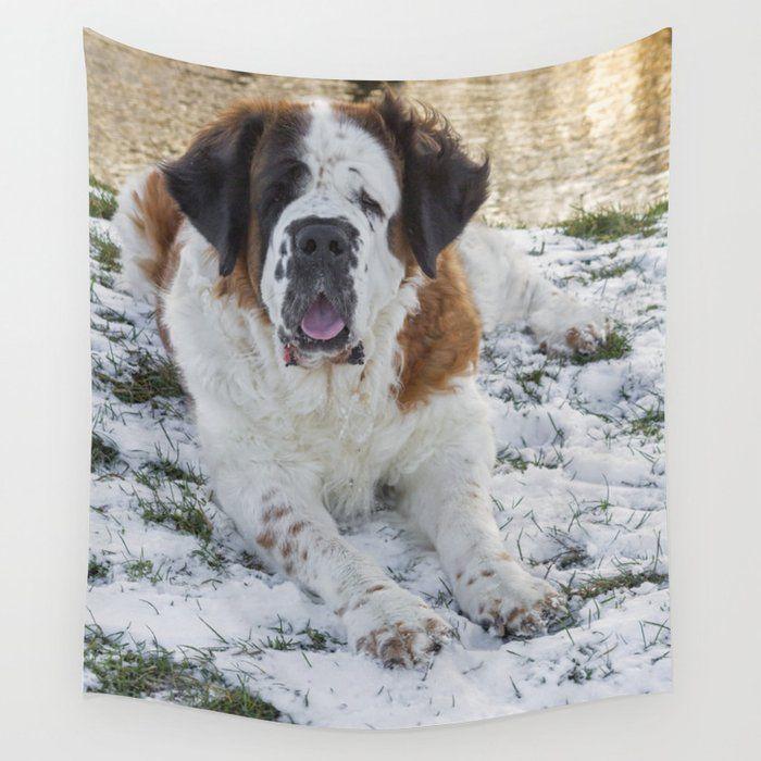 Fleece Blanket Saint Bernard