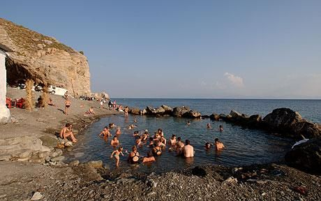 hot springs in kos, greece. wonderful place to visit!